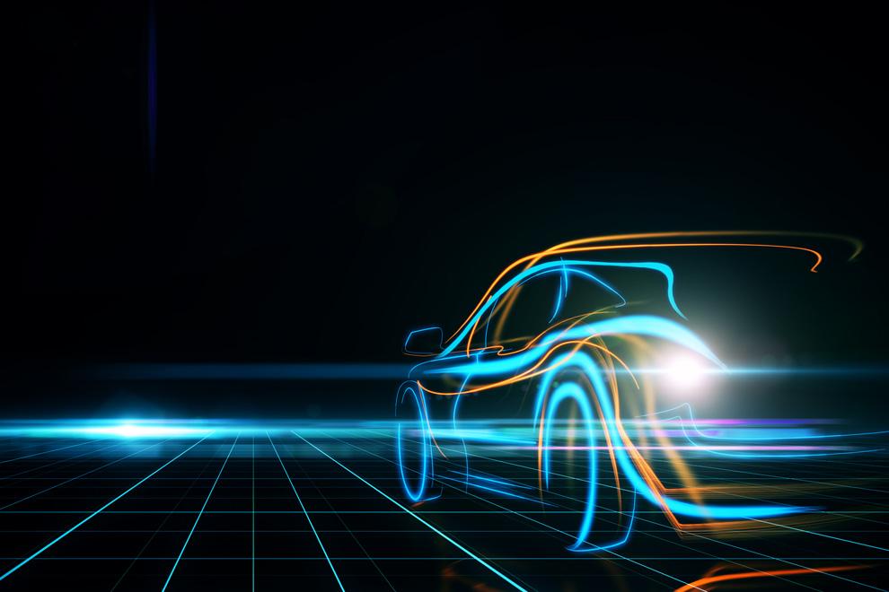 Car image for award wining technology post