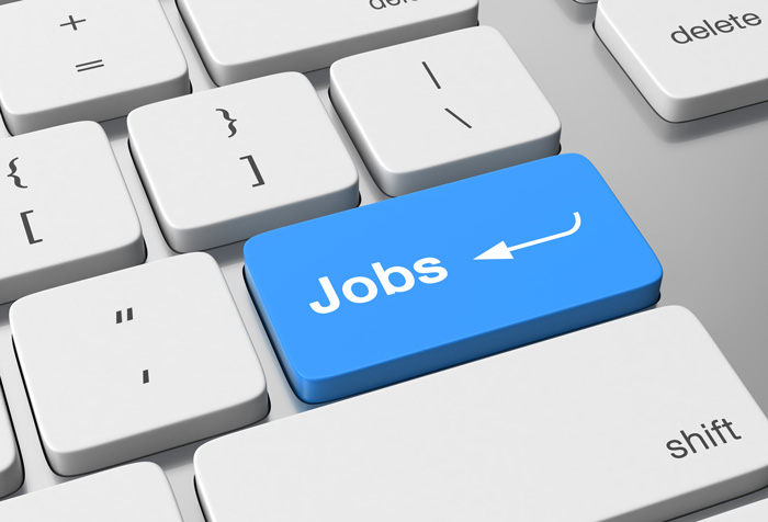 Jobs key indicating vacancy