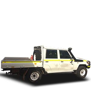 4WD Landcruiser Ute Dual Cab
